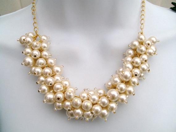 Etsy Chunky Beaded Necklace
